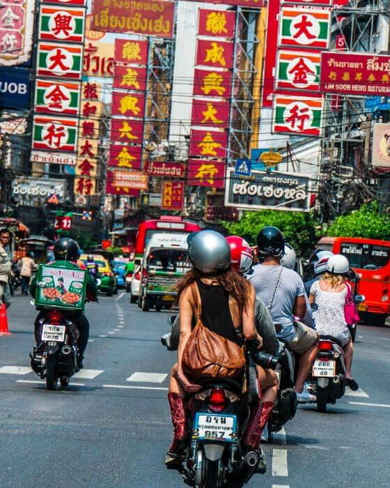 Bangkok YAowarat chinatown elindulgist thailand